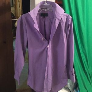 Alexander Julian colours light purple button down